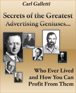 Secrets of the Greatest Advertising Geniuses
