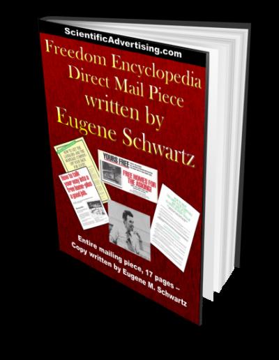 Freedom Encyclopedia mailer Written by Gene Schwartz