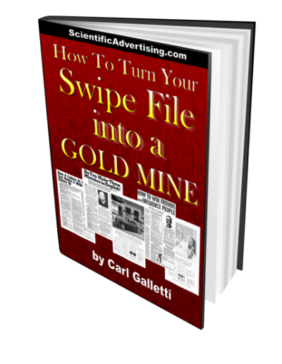 How To Turn Your Swipe File into a Gold Mine