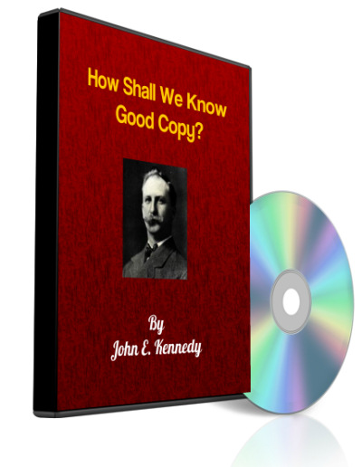 How Shall We Know Good Copy AUDIO