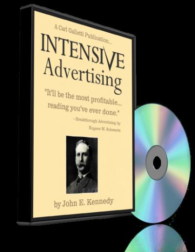 Intensive Advertising AUDIO