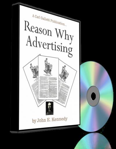 Reason Why Advertising AUDIO
