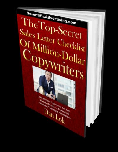 The Top Secret Sales Letter Checklist of Million Dollar Copywriters