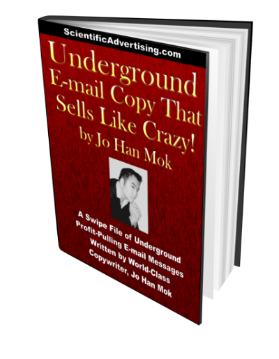 Underground E-mail Copy That Sells Like Crazy